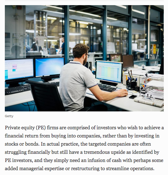 IT Due Diligence In Private Equity